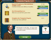 Quest Turquoise Pagoda 3-Tasks