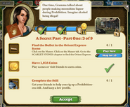 A secret past - Part One 3 of 9 Quests