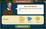 Quest For the Birds 2-Rewards
