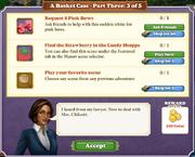 Quest A Basket Case-Part Three 3-Tasks