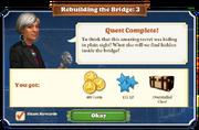 Quest Rebuilding the Bridge 3-Rewards