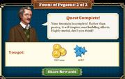 Quest Fount of Pegasus 2-Rewards