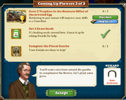 Quest Coming Up Flowers 3-Tasks