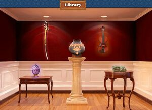 Library trophy room