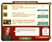 Quest The Lucky Bear Part Two 4-Tasks