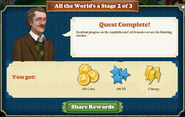 Quest All the World's a Stage 2-Rewards