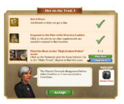 Quest Hot on the Trail 5-Tasks