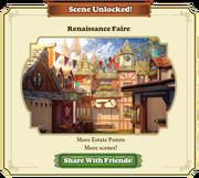 Scene Unlocked Renaissance Faire
