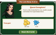Quest The Lost Harp 9 Rewards