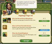 Quest Kipling's Tiger 10-Tasks