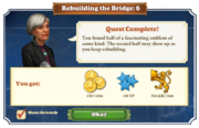 Quest Rebuilding the Bridge 6-Rewards