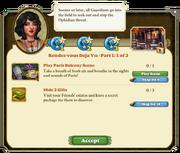 Quest Rendez-vous Deja Vu Part One 1-Tasks