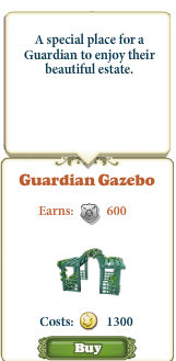 Marketplace Guardian Gazebo-infos