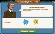 Quest Time For High Tea 4 Complete-Screenshot