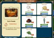 Guardian Challenge tuts tumb
