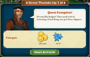 Quest Gardening Storage 1-Rewards