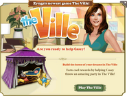 Zynga Crosspromotion The Ville