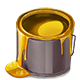 Material Glossy Gold Paint-icon