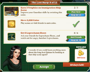 Quest The Lost Harp 9 Tasks