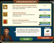 Quest A Green Dream Part 2-Tasks