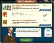Quest DISH Fast Find Quest-Tasks
