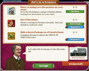 Quest Drive-In to Romance-Tasks