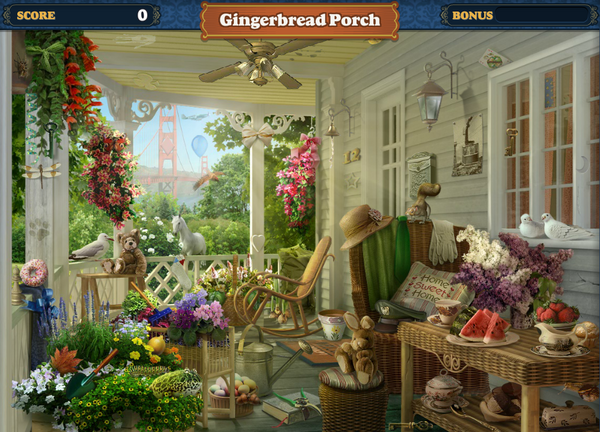 Scene Gingerbread Porch-Screenshot