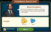 Quest Twin Hearts Part Three 4-Rewards