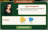 Quest The Lost Harp 8 Rewards