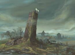 The Drunkards Tower by Dimitri Bielak, Fantasy Flight Games©