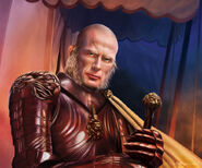 Tywin Lannister by Tiziano Baracchi, Fantasy Flight Games©