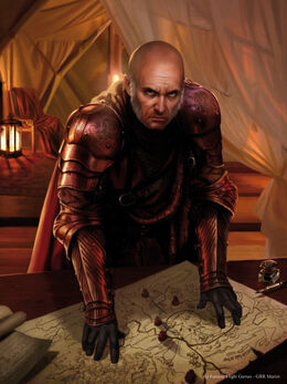 Tywin Lannister by Magali Villeneuve, Fantasy Flight Games©