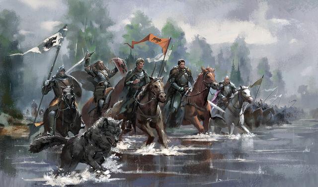 Archivo:King Robb's South War by zippo514©.jpg