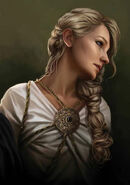 Daena Targaryen by Magali Villeneuve©