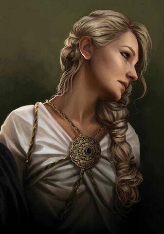 Archivo:Daena Targaryen by Magali Villeneuve©.jpg