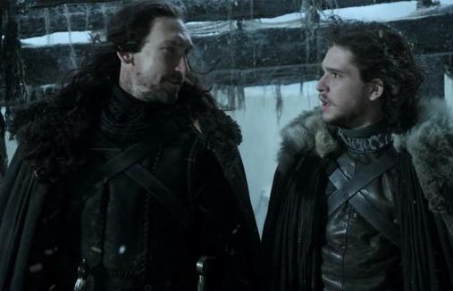 Archivo:Jon Nieve y Benjen Stark HBO.jpg