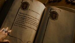 Página Jaime Lannister Libro Blanco HBO