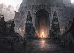 At the Gates by by Juan Carlos Barquet, Fantasy Flight Games©