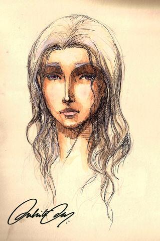 Archivo:Daenerys Targaryen by Duhita Das©.jpg