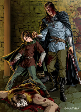 The Tickler, Arya and Sandor by Mathia Arkoniel©.jpg