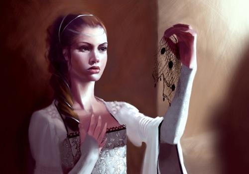 Archivo:Sansa Stark by Natascha Röösli, Fantasy Flight Games©.jpg