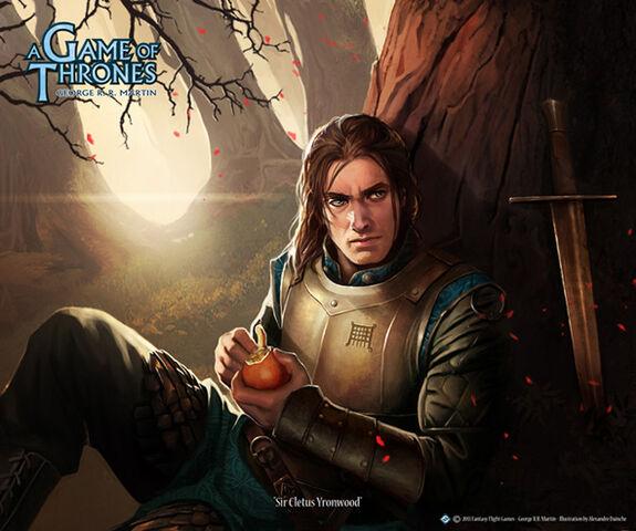 Archivo:Cletus Yronwood by Alexandre Dainche, Fantasy Flight Games©.jpg