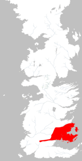 Mapa Tierras de Tormentas extensión