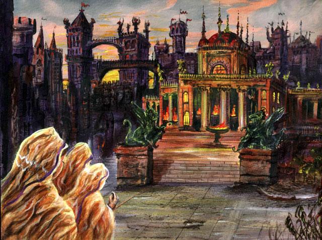 Archivo:Calle de las Hermanas by Franz Miklis, Fantasy Flight Games©.jpg