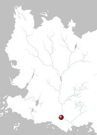 Mapa Valysar