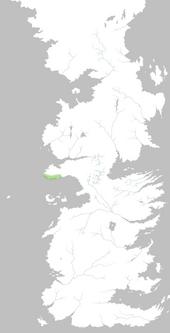Mapa Acantilados de Pedernal
