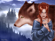 Sansa & Lady by M.Luisa Giliberti©