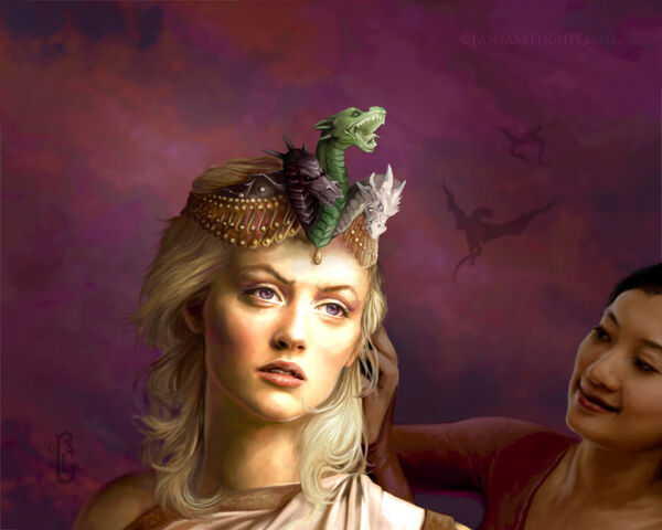 Archivo:Daenerys Targaryen by quickreaver©.JPG