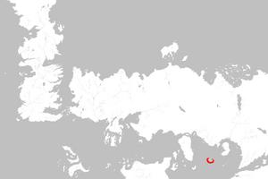 Mapa Marahai