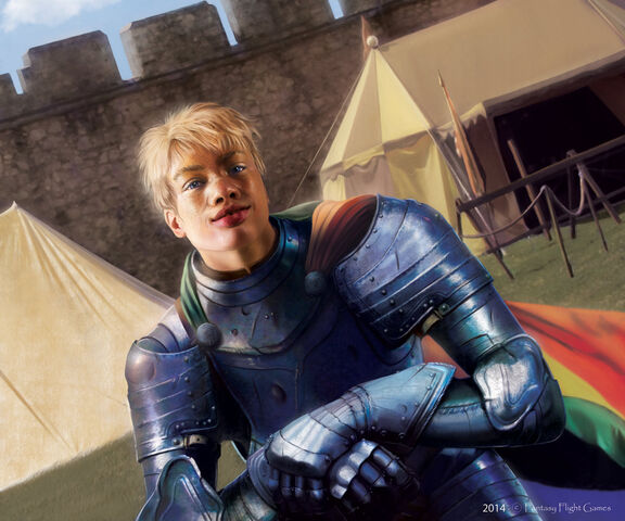 Archivo:Brienne of Tarth by Tiziano Baracchi, Fantasy Flight Games©.jpg